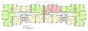 Планировочные решения типового этажа